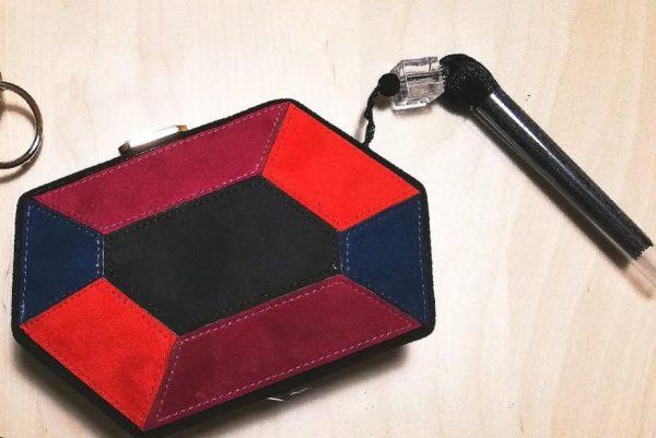 Clutch hexagonal negro