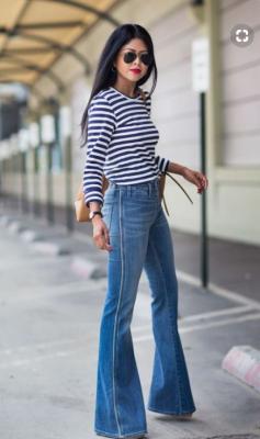 Pantalones campana Acuario