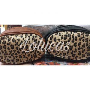 Riñonera leopardo
