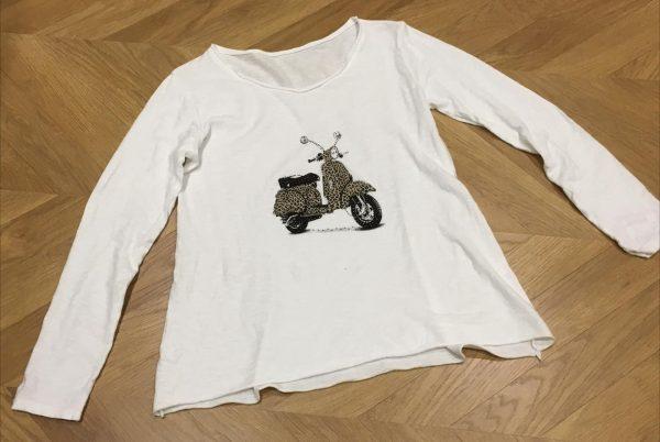 Camiseta moto print