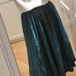 falda brillo