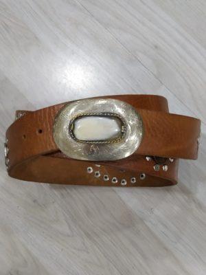 cinturón con monedas